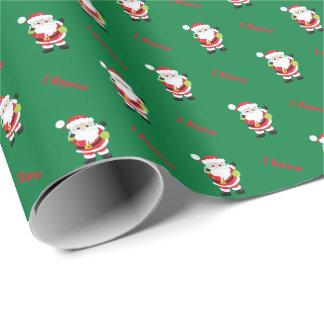 Santa tror jag | julhelgdag presentpapper