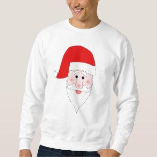 Santas ansiktetröja sweatshirt