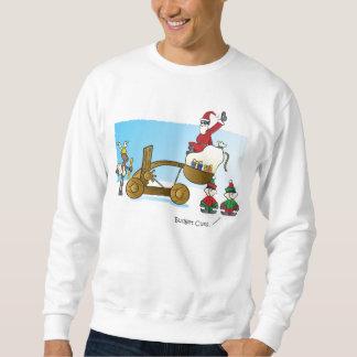 Santas budgetnedskärningar långärmad tröja