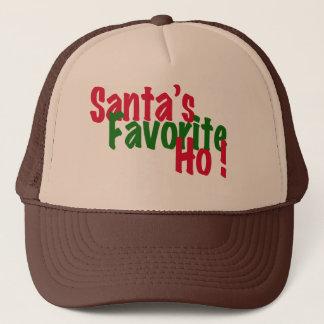 santas design för hatt för jul för favorit ho truckerkeps