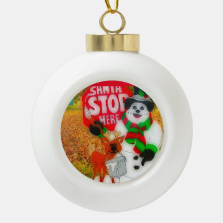 Santas glädje julgranskula