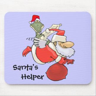 Santas hjälpreda musmatta
