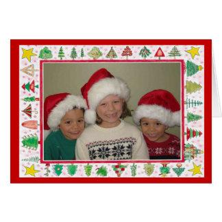 Santas hjälpredor 2007 hälsningskort
