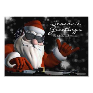 Santas i Da-hus 12,7 X 17,8 Cm Inbjudningskort