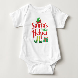 Santas lite ordstäv | för jul för helgdag för t shirt