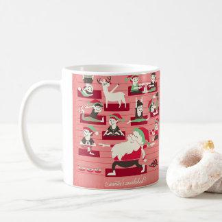 Santas mugg för jul för seminariumYoga