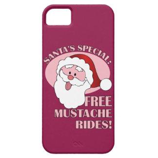 Santas mustasch rider iphone case iPhone 5 Case-Mate fodral