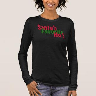 santas t-skjorta för jul för favorit ho rolig tee