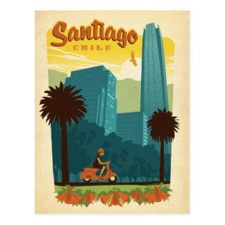 Santiago Chile Vykort