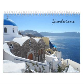 Santorini 2018 kalender