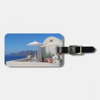 Santorini Grekland Bagagebricka