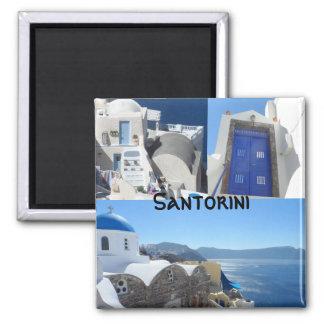 Santorini Grekland Magnet
