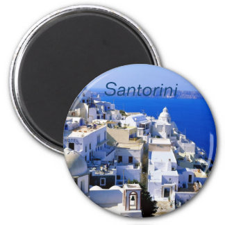 Santorini kylmagnet kylskåpsnagnet