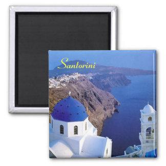 Santorini kylmagnet magnet