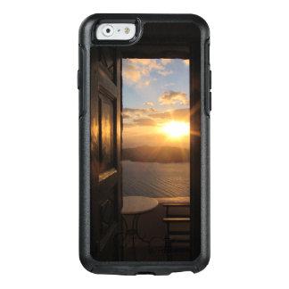 Santorini solnedgång till och med dörr OtterBox iPhone 6/6s fodral