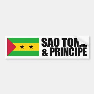 Sao Tome & Principe flagga Bildekal