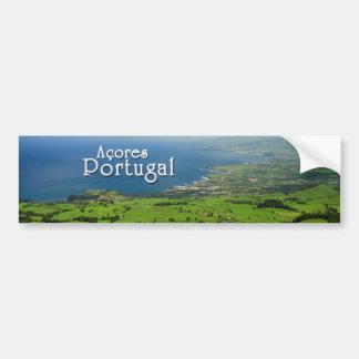 SaoMiguel grönt landskap Bildekal