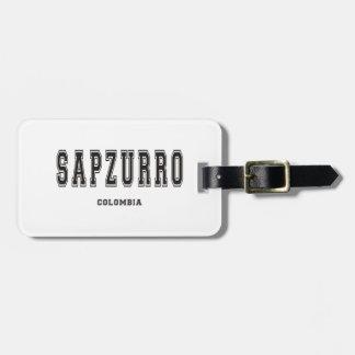 Sapzurro Colombia Tag För Bagage