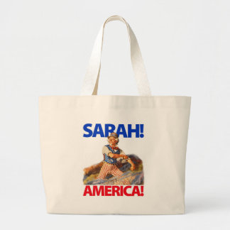 Sarah Palin Amerika! Jumbo Tygkasse