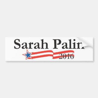 Sarah Palin för presidenten 2016 Bildekal