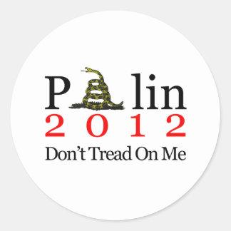 Sarah Palin går inte på mig Runt Klistermärke