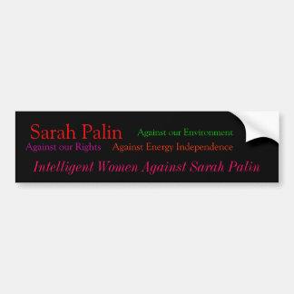 Sarah Palin, mot vår rättigheter, mot vår En… Bildekal