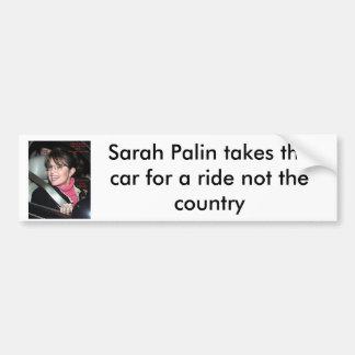 sarah_palinridebumberklistermärke, Sarah Palin tak Bildekal