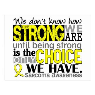 Sarcoma hur starkt vi är vykort