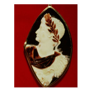 Sardonyx Cameo uthärda profilera av Tiberius Vykort