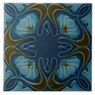 Särdrag Backsplash för art nouveauvintagedesignen Stor Kakelplatta