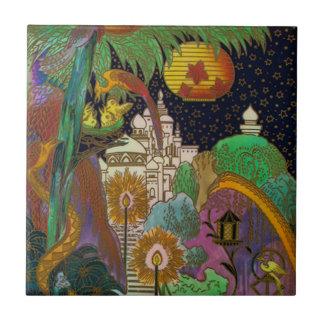 Särdrag Backsplash för Fairylandvintagedesignen Liten Kakelplatta