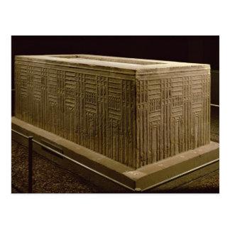 Sarkofag från den Abu mörten (limestone) (se också Vykort