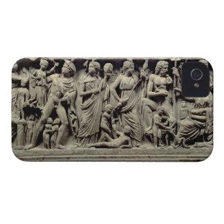 Sarkofag med lättnad som visar Prometheus och t iPhone 4 Case-Mate Fodral