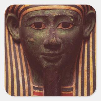Sarkofaget av Psametik (664-610BC) specificerar av Fyrkantiga Klistermärken