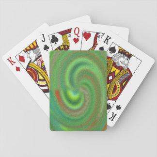 Särskiljande abstrakt mönster casinokort