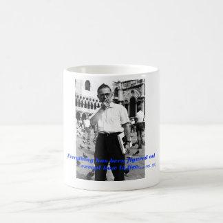 Sartre: Filosofmugg Kaffemugg