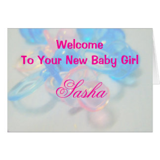 Sasha Hälsningskort