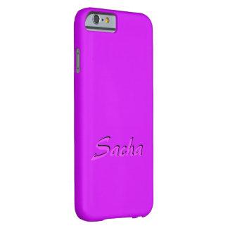 Sasha skräddarsy iphone case barely there iPhone 6 fodral