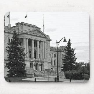 Saskatchewan parlament som bygger Mousepad Musmatta