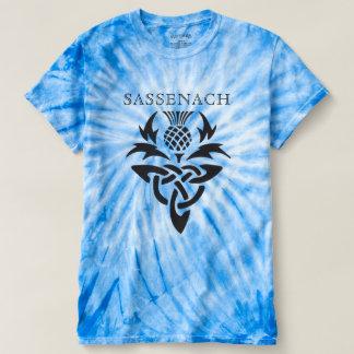 Sassenach - Celtic Thistle - anpassningsbar Tee Shirt