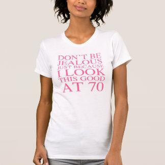 Sassy 70th födelsedag för kvinnor t shirt