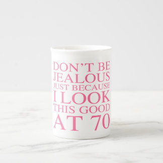 Sassy 70th födelsedag för kvinnor tekopp