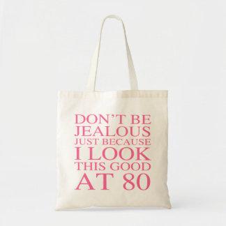 Sassy 80th födelsedag för kvinnor tygkasse