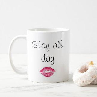 Sassy dräpa all dagmugg kaffemugg