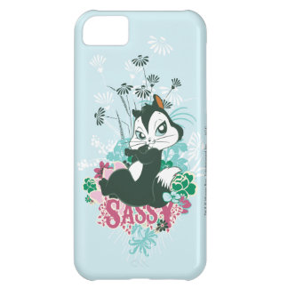Sassy Pussyfoot iPhone 5C Fodral