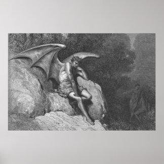 Satan tänkande affisch