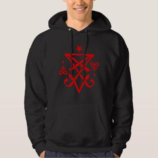 Satanic ockult Sigil av Lucifer Sweatshirt