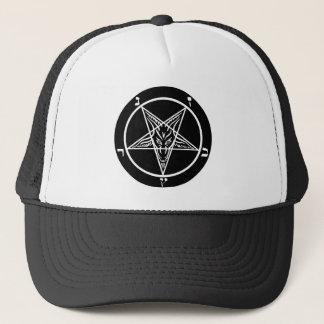 Satanic truckerkeps för svart metall