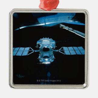 Satellit- 2 julgransprydnad metall