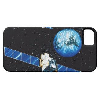 Satellit- orbiting jord iPhone 5 Case-Mate skydd